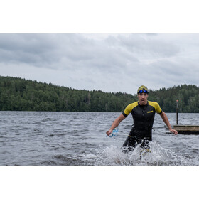 Colting Wetsuits Swimrun Go Combinaison Femme, black/yellow